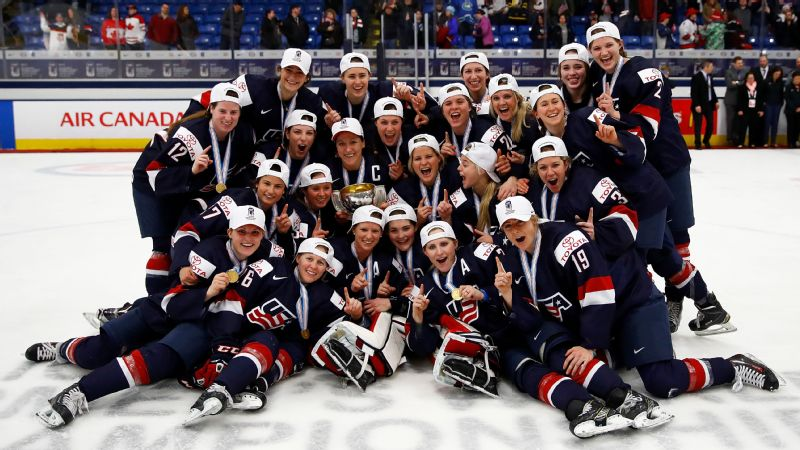 The U.S. women's hockey team won the gold medal at the 2017 IIHF Women's World Championships, after battling off the ice with USA Hockey.
