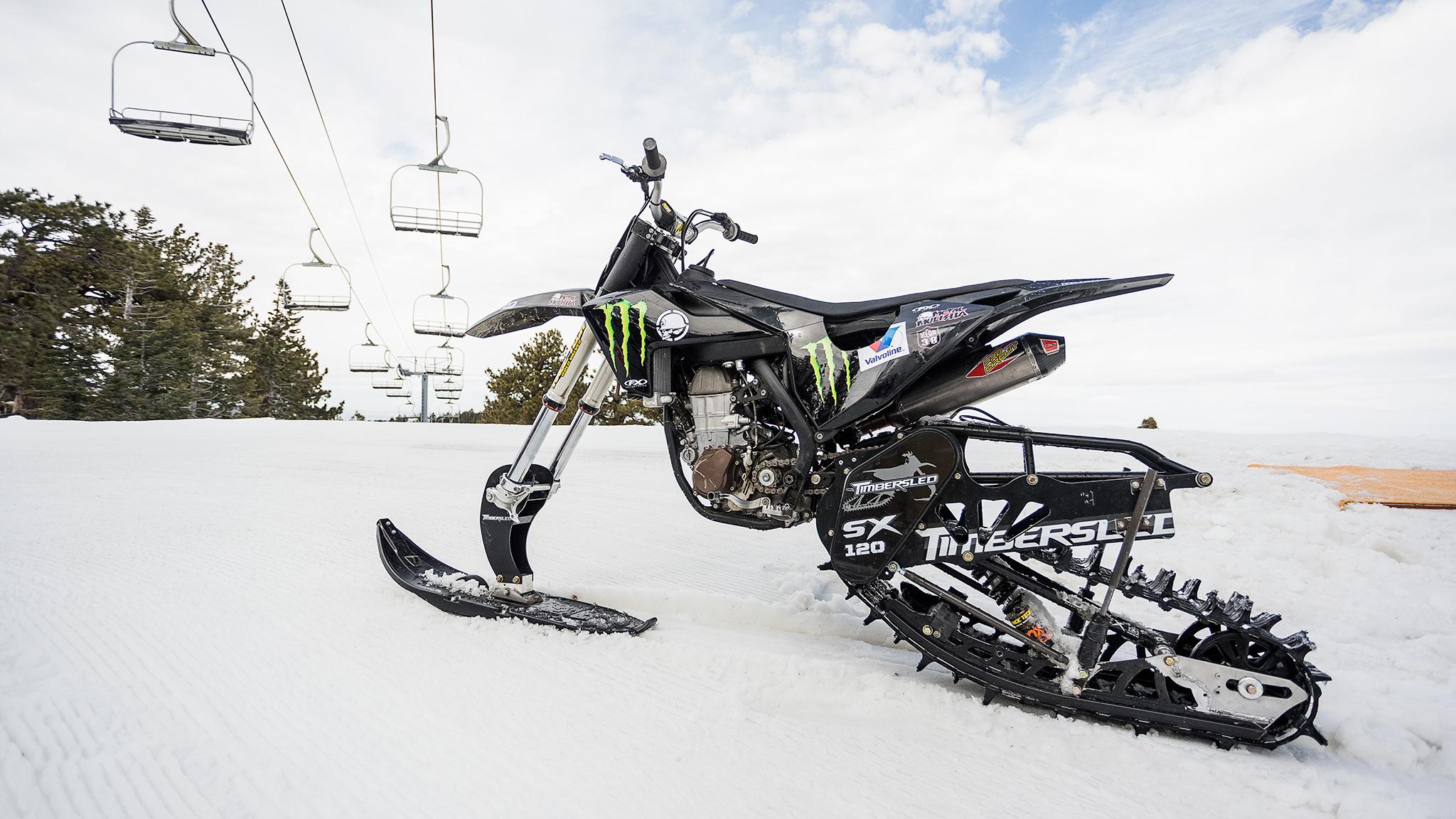 Snow Bike Paradise