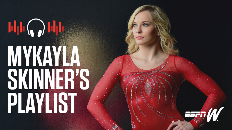 espnW Spotify Playlist - Mykayla Skinner