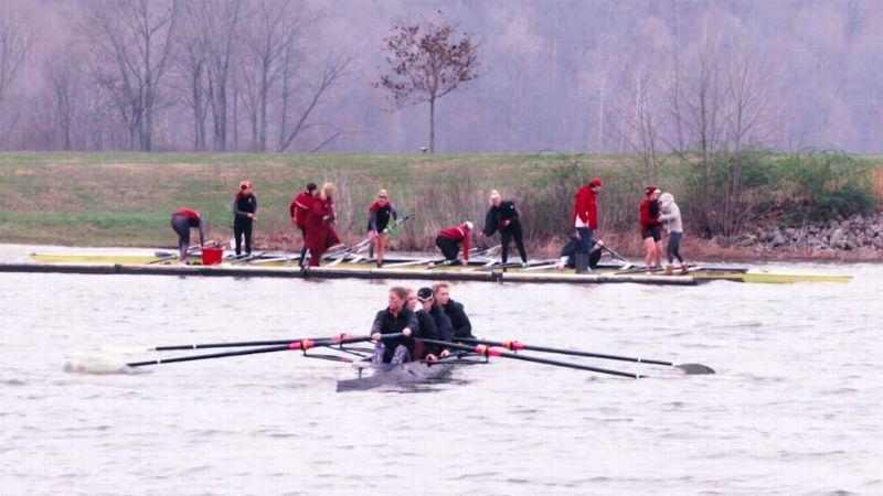 IU rowing team