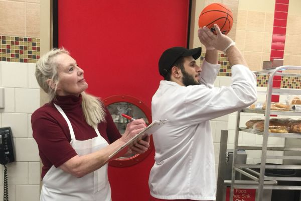 Mohammed Jaljouli and Adele Walters like to talk about three things: chemistry, Longmire and basketball.