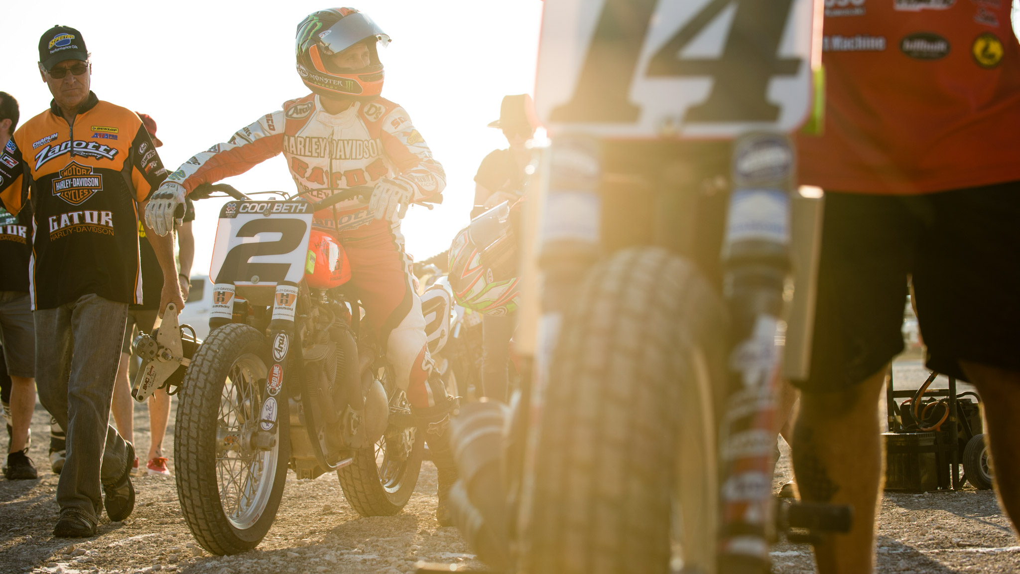 Kenn Coolbeth Jr.: Moto X Flat Track