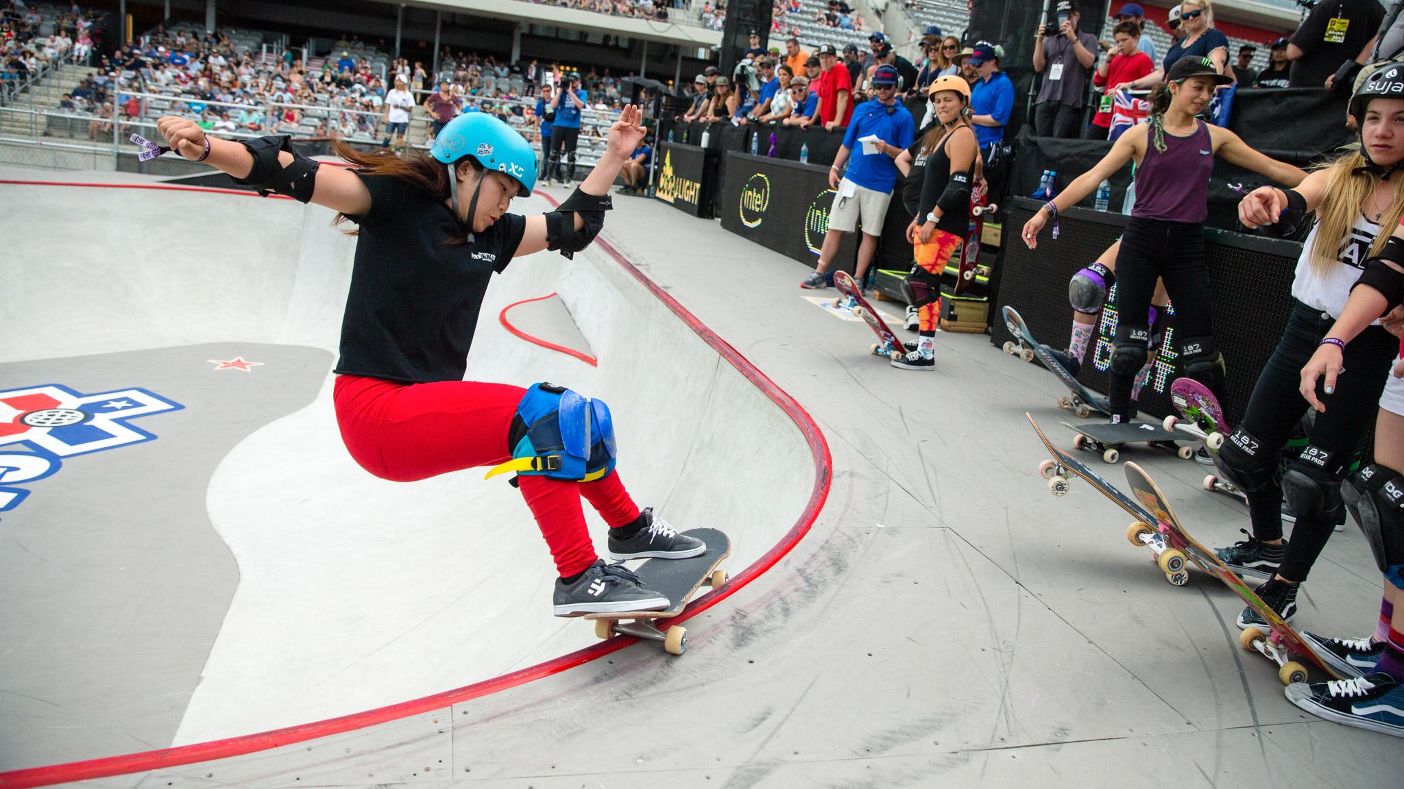 Kisa Nakamura: Women's Skateboard Park