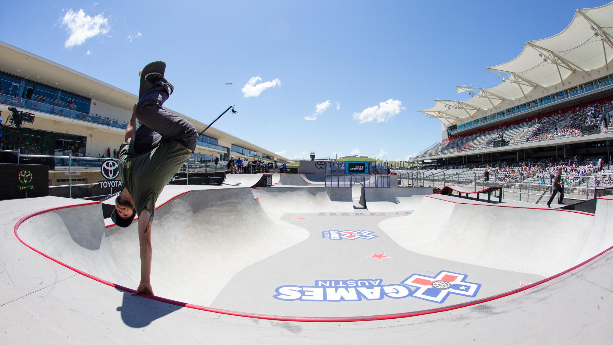 Skateboarding: Ronnie Sandoval