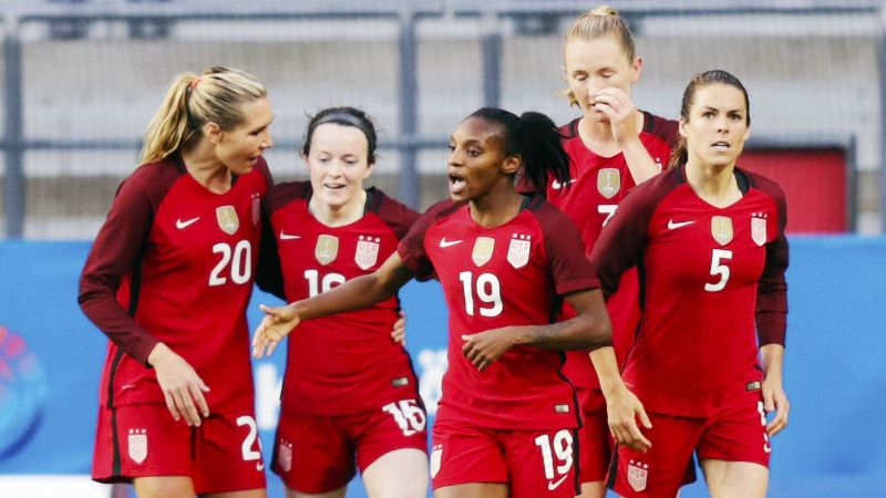 USWNT suing U.S. Soccer for discrimination thumbnail