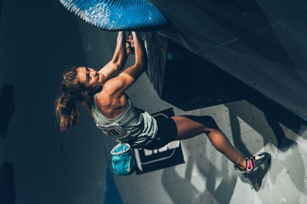Margo Hayes started as a gymnast, then turned to rock climbing full time at age 13.