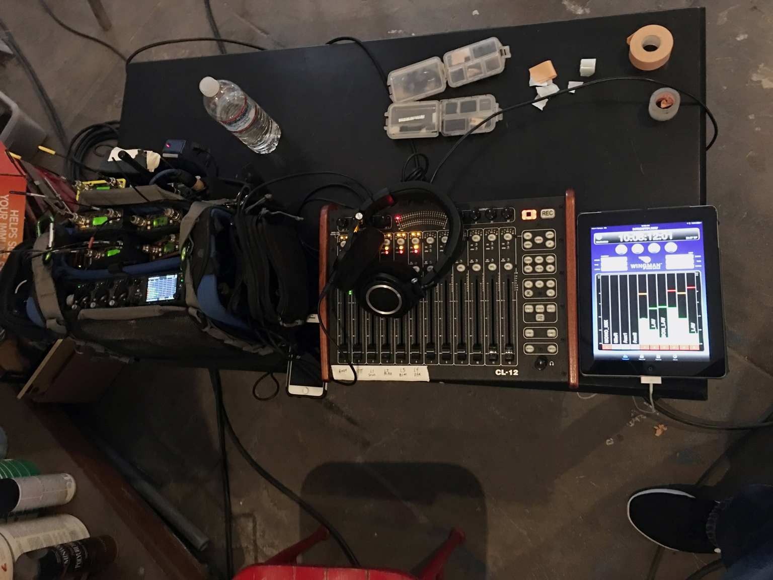 Quiet on the set