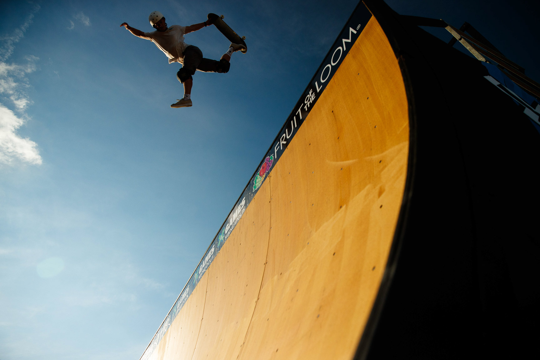 Skate Vert Practice