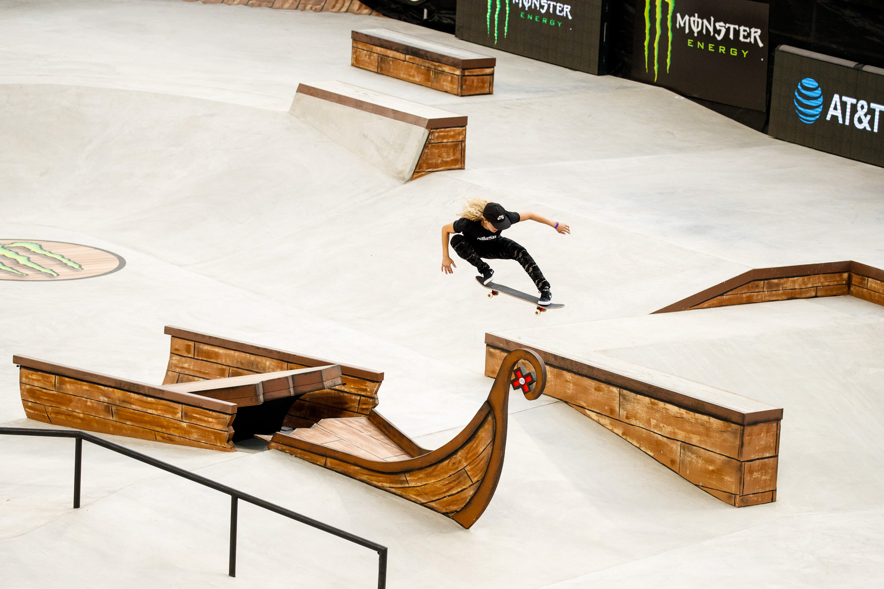 Gabi Mazetto has come up in skateboarding through the strong Brazilian scene. In October, she came in second behind X Games gold medalist Pamela Rosa in the Oi Stu Open. On Thursday morning, she earned herself a spot in the Women's Skateboard Street final, which takes place at 7:30 p.m. ET Friday.