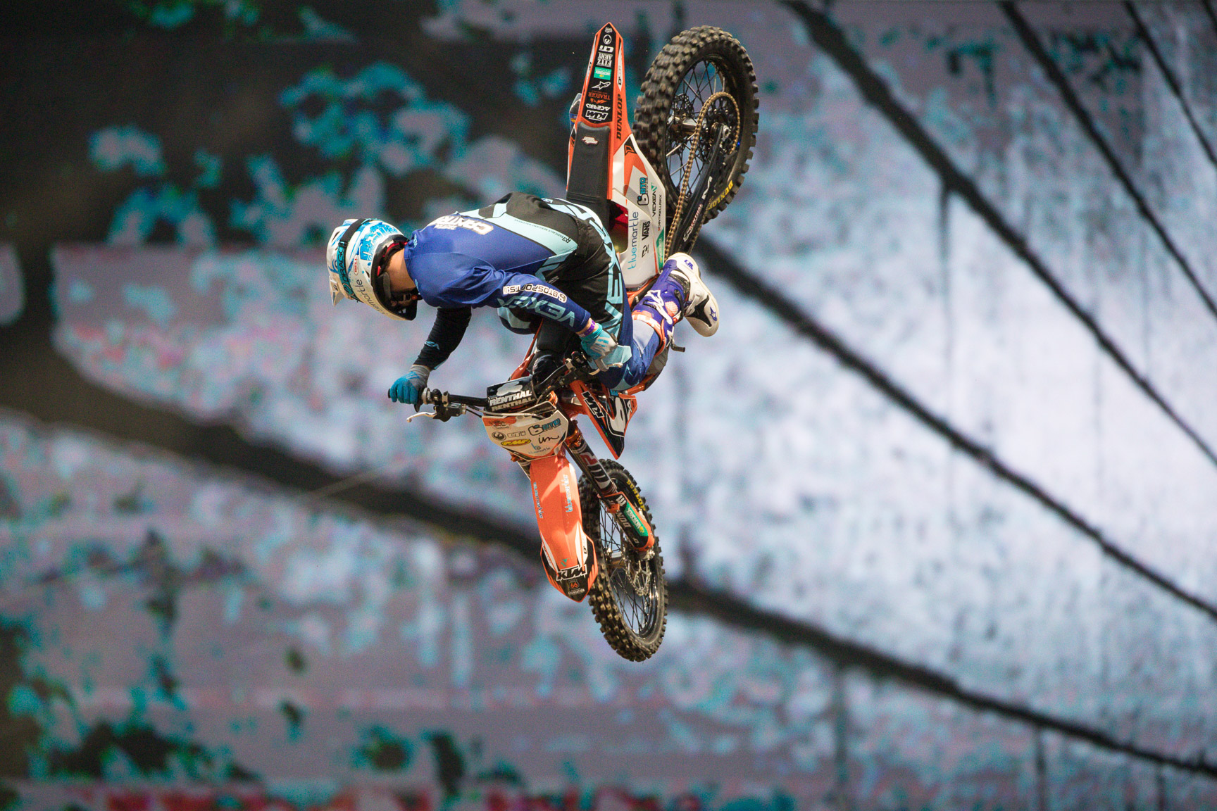 X Games rookie Destin Cantrell styled his way to a gold medal in the X Games fan-vote competition for Moto X Best Whip on Saturday night in Minneapolis.