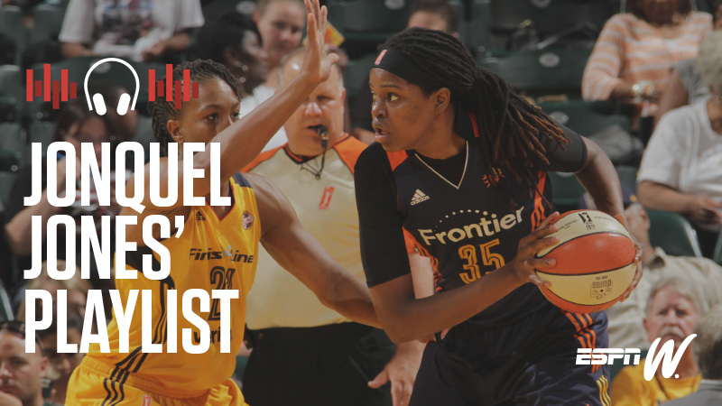 espnW Spotify Playlist - Jonquel Jones