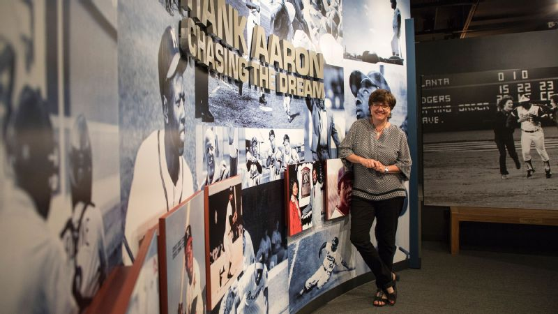 For Mary Quinn to help design an exhibit dedicated to Hank Aaron, she met with Aaron and his family in their childhood home in Mobile, Alabama, and got a better understanding of his upbringing.