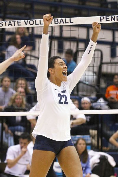 Simone Lee leads Penn State in kills through the first three games of the season.