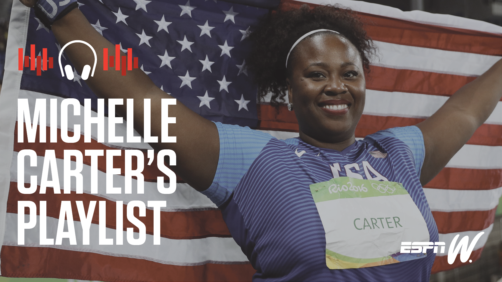 espnW Spotify Playlist - Michelle Carter
