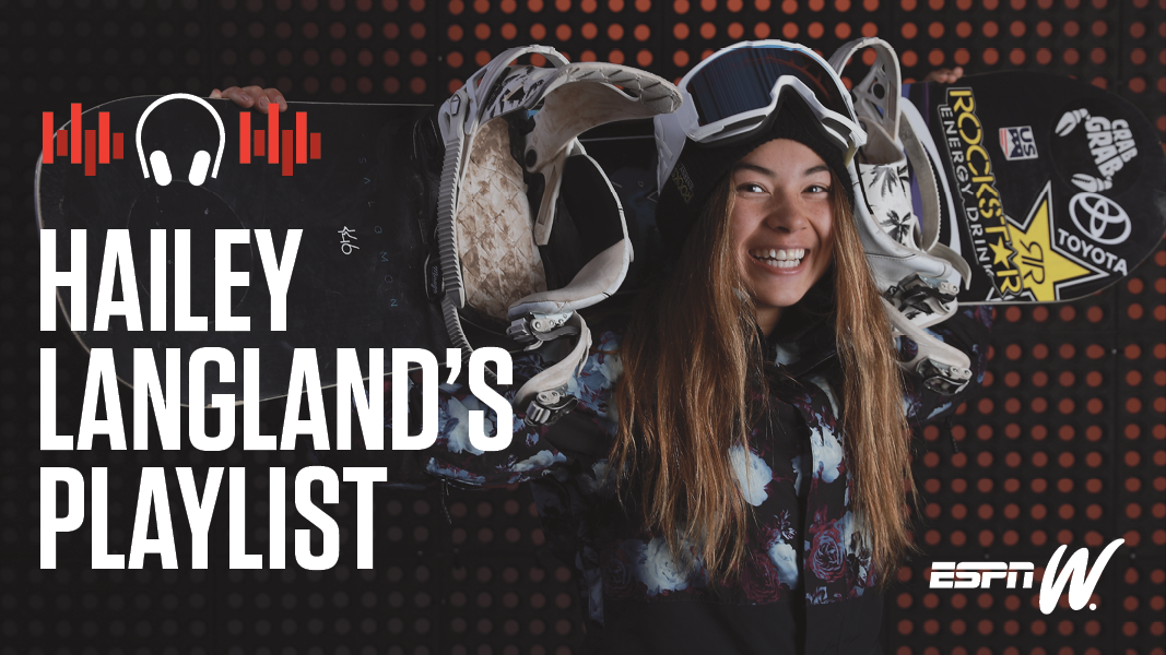 espnW Spotify Playlist - Hailey Langland