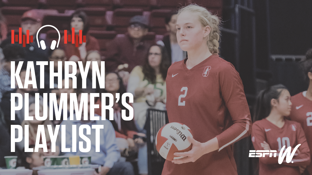 espnW Spotify Playlist - Kathryn Plummer