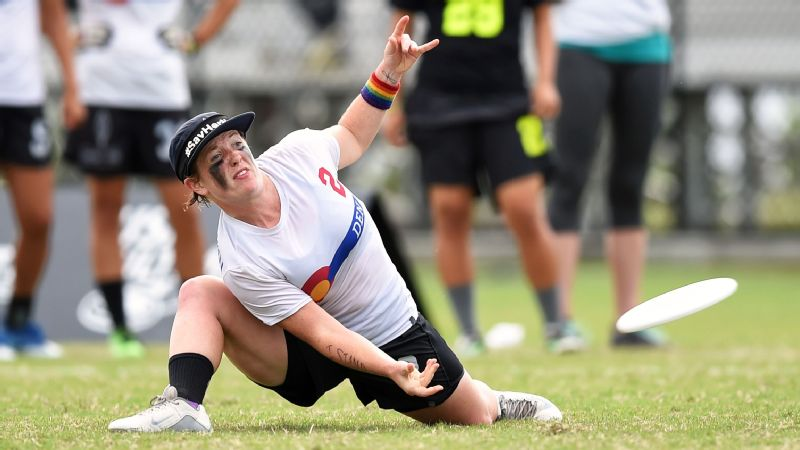 Jesse Shofner was the first woman to play in the pro league, the AUDL. She's also played on two national teams, won two national championships with the University of Oregon team and now plays for the elite women's club team Molly Brown.