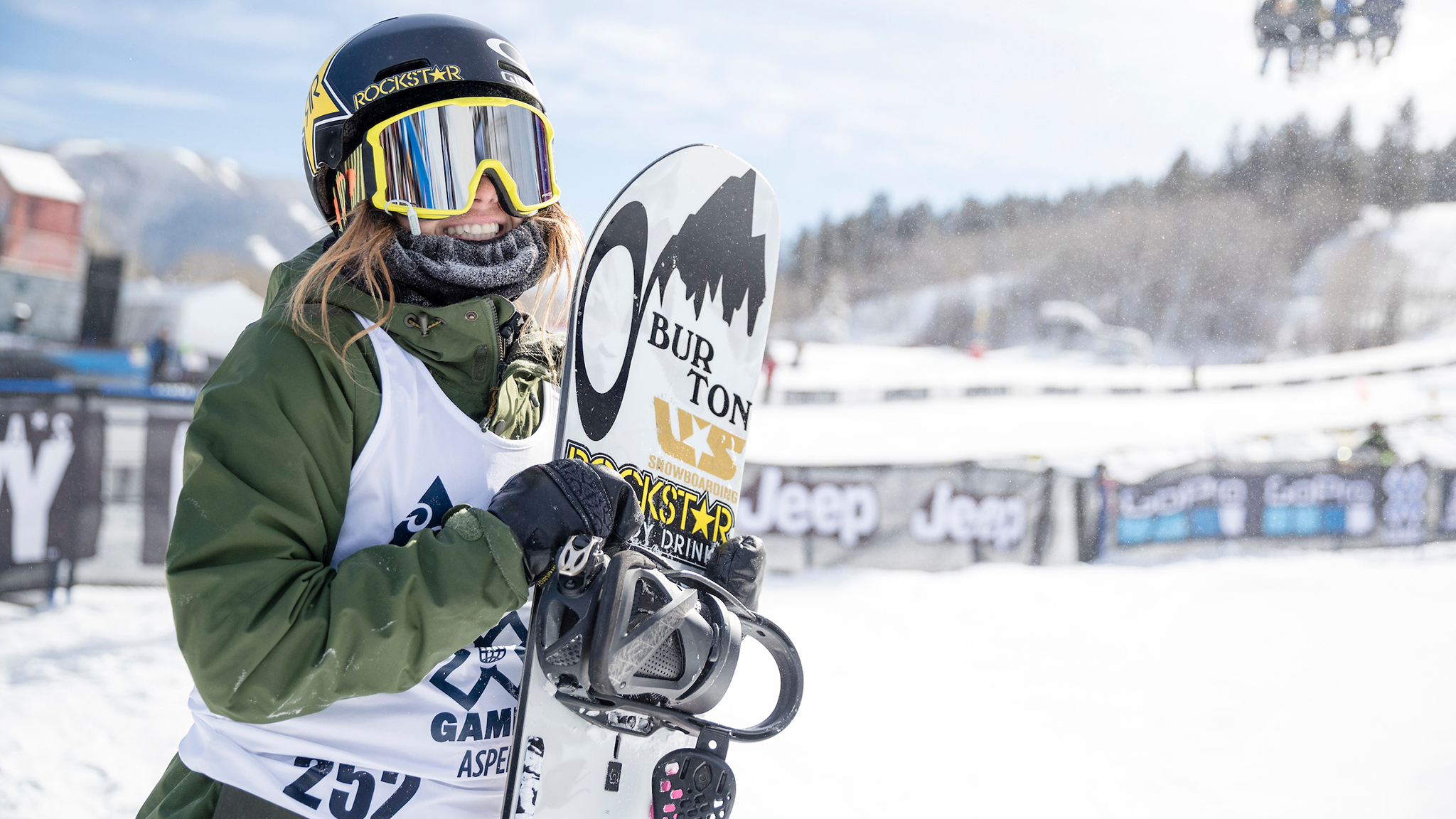 Yung Hails shocked everyone (including herself) by stomping the first-ever double cork by a woman off an X Games jump.