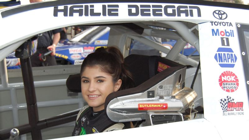 Full slate of racing means it's full speed ahead for teen driver Hailie Deegan