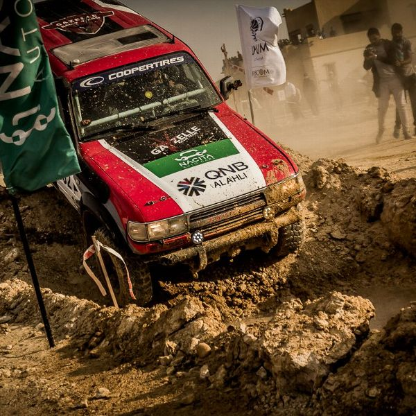 Rally drivers navigate off-road from point to point during a race -- using only a road map.