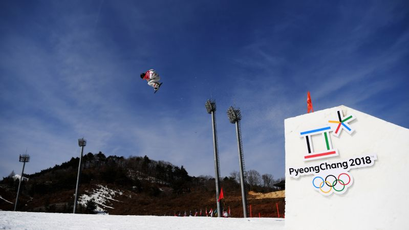 American Jamie Anderson, pictured, qualified sixth for the snowboard big air final. Teammates Julia Marino (ninth) and Jessika Jenson (12th) will join her there.