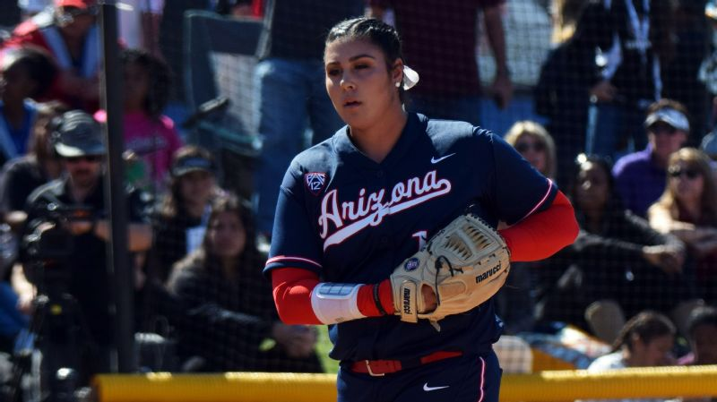 Arizona Wildcats pitcher Taylor McQuillin named espnW softball player of the week