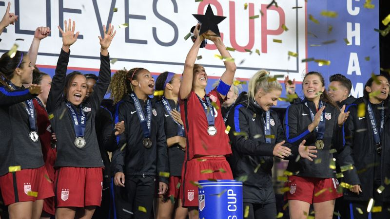SheBelieves trophy