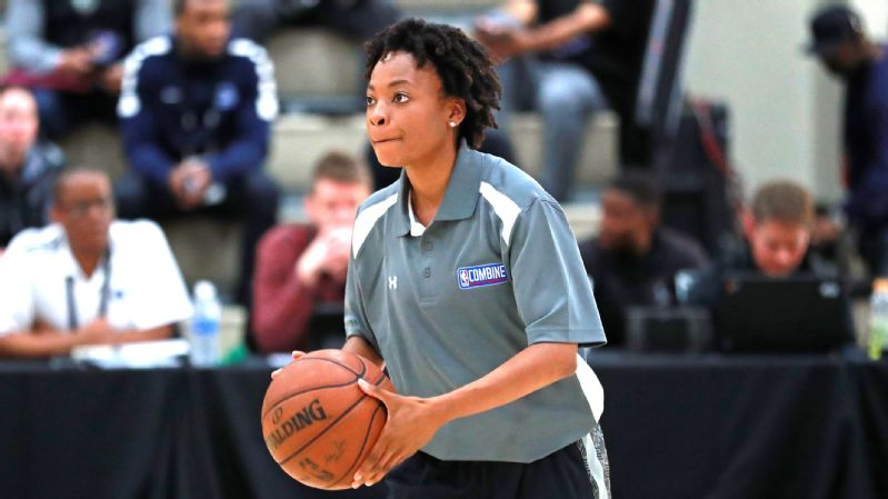 Edniesha Curry joins the Black Bears as the only woman currently serving as a full-time assistant coach in NCAA Division I men's basketball.