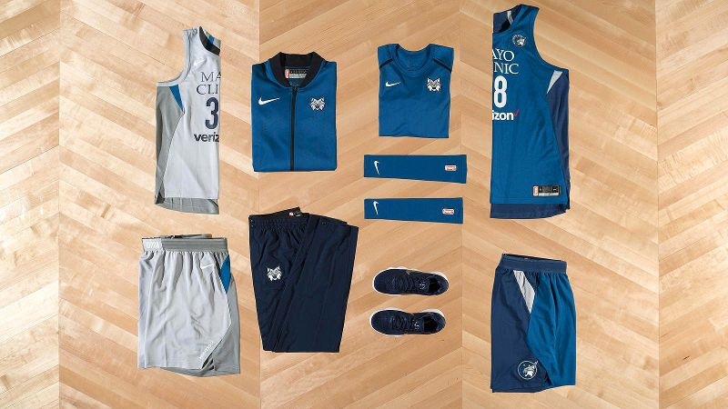 WNBA Nike uniforms