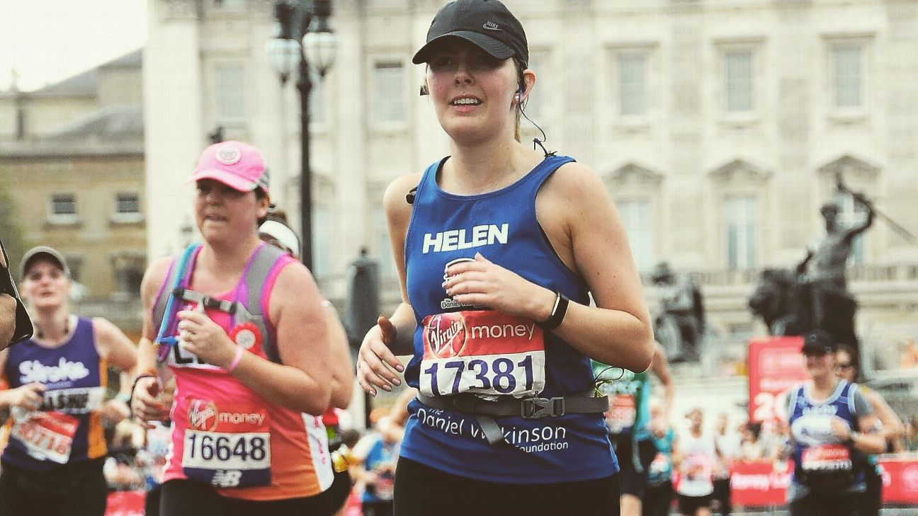 Helen Wilkinson signed up for the London Marathon as a joke. But when her brother died unexpectedly, the 26.2-mile race became a mission in his honor.
