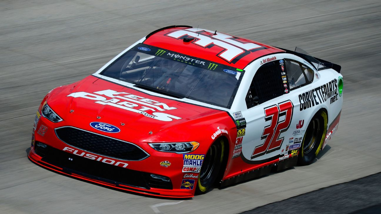2018 NASCAR Cup Series Paint Schemes - Team #32 Go Fas Racing