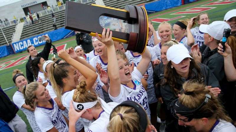 James Madison became the first team other than Maryland, Northwestern and North Carolina to win the NCAA women's lacrosse title since 2004.