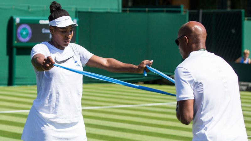 Serena Williams said she has done more rehabilitation of late to help combat a right pectoral muscle injury that forced her to withdraw from the French Open.
