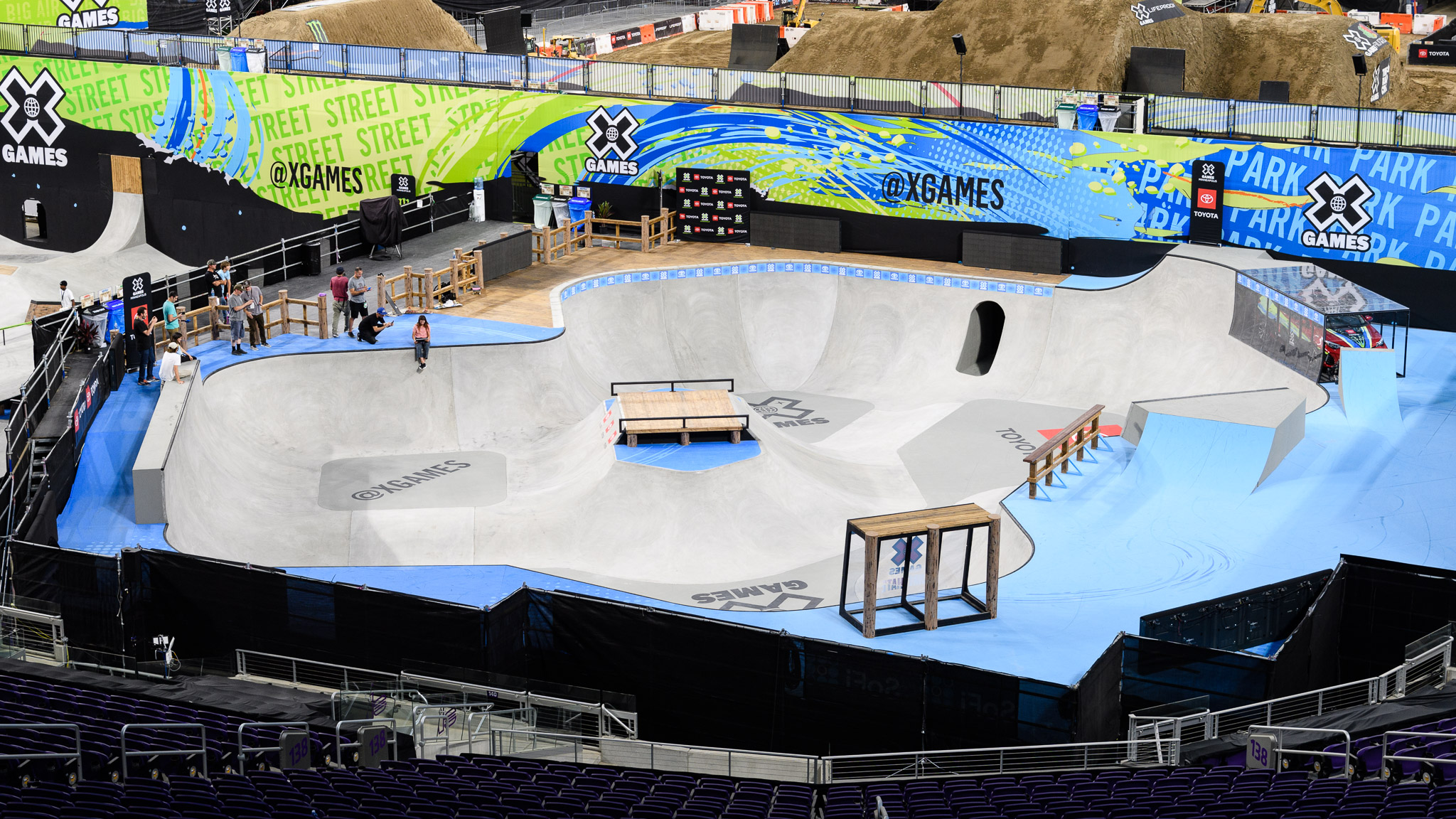 Welcome to X Games Minneapolis 2018. X Games Minneapolis gets underway on Thursday, July 19, but in advance of the competition, XGames.com takes an inside look at the courses and the build up to X Games.