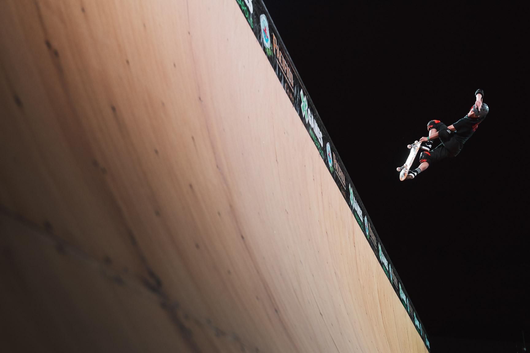 Moto Shibata, Skateboard Vert final