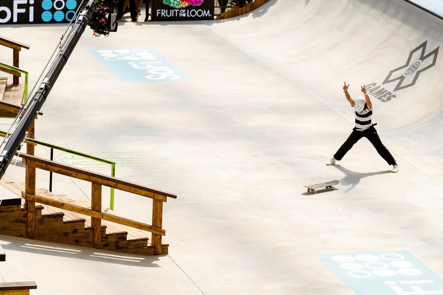 Pamela Rosa, Skateboard Street final