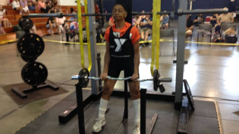 Willie Murphy started competitively powerlifting about 10 years ago.