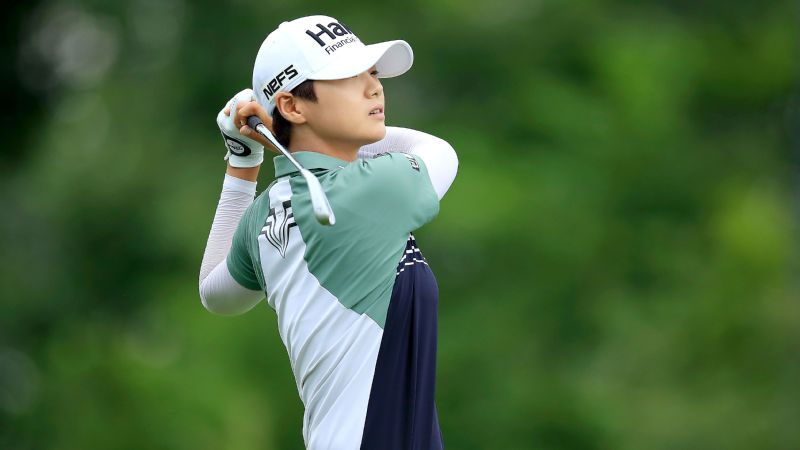 Sung Hyun Park said her round Friday at the Indy Women in Tech Championship was her best round of the year.