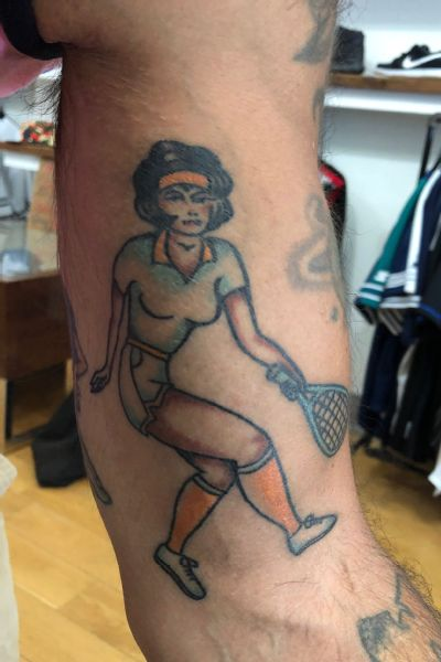 Tariq Zaid commemorated the project by having Jeremy Nieves tattoo Mary Ewing Outerbridge's image in his arm.