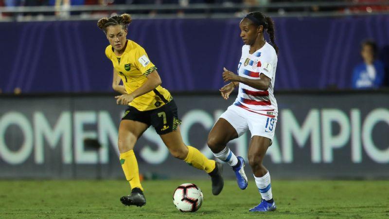 USA vs. Jamaica (Crystal Dunn)