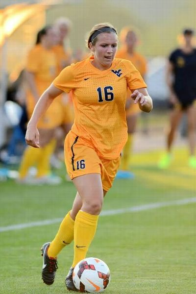 Kailey Utley helped lead her team to four Big 12 Conference championships while at WVU.