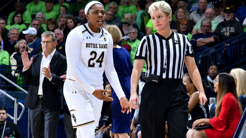 There is no love lost between UConn and Notre Dame -- as evidenced during Sunday's game and in the aftermath.
