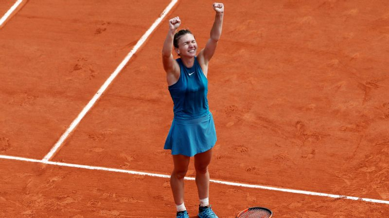 Halep, who had lost two previous finals at Roland Garros, defeated Sloane Stephens at this year's French Open to win her first grand slam event.