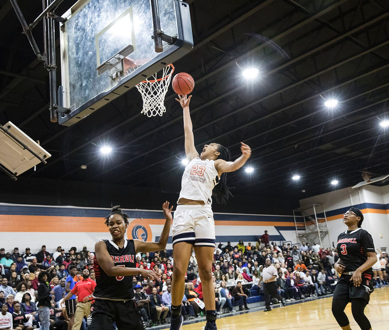 Maori Davenport continued to practice during her suspension, and her game remained top-notch when she returned to the spotlight.