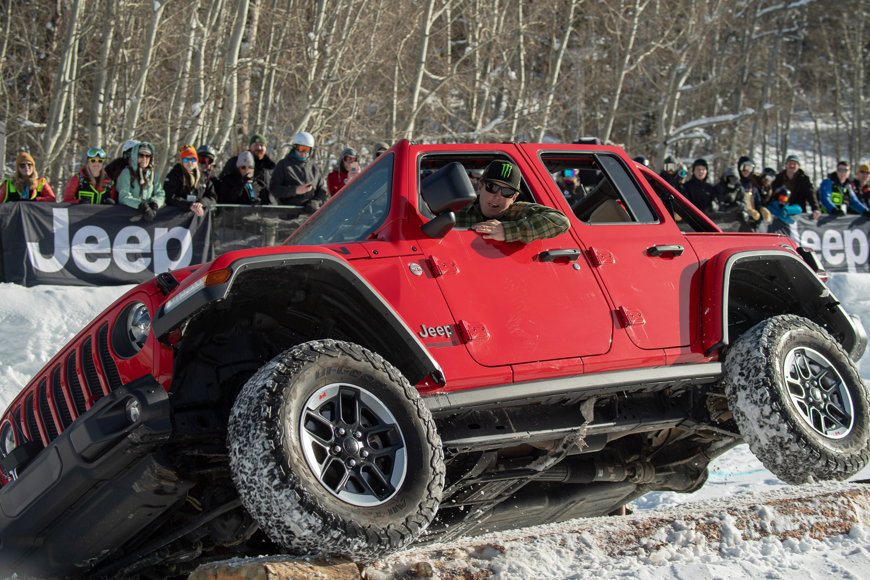 Casey Currie, Jeep Wrangler X Challenge