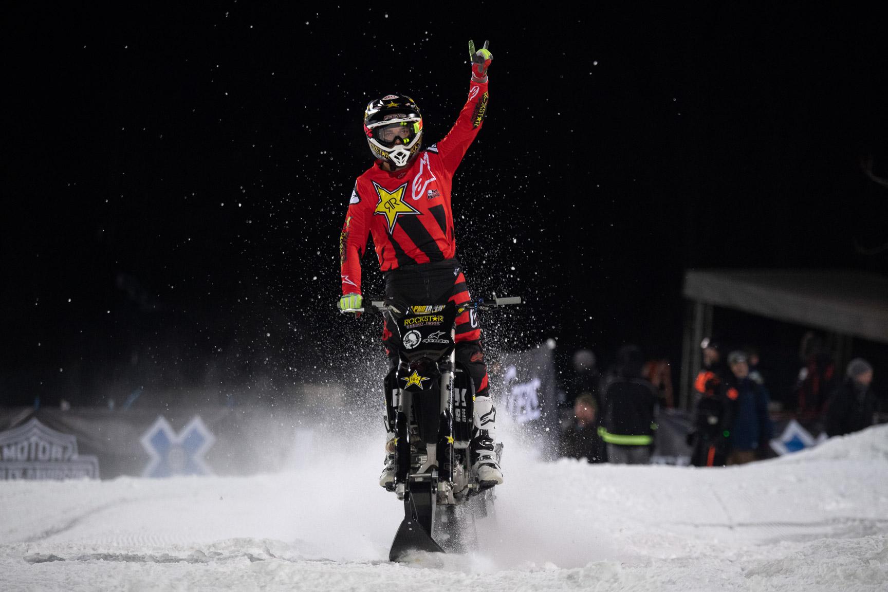 Rob Adelberg, Snow Bike Best Trick