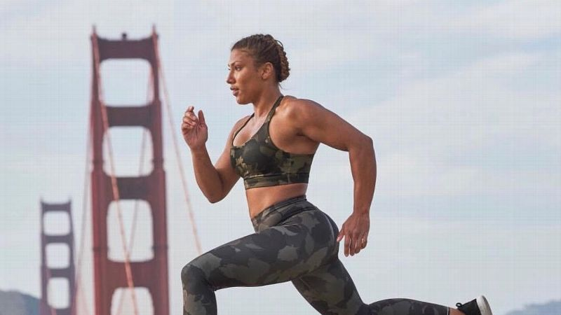 American Ninja Warrior star Meagan Martin wants to encourage women and girls to stick with the sport of their choice.