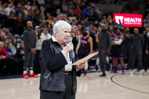 Jazz owner Gail Miller asked fans to show respect to all teams.