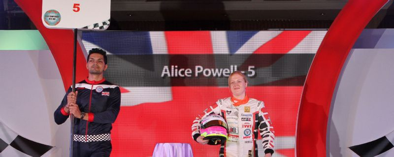 Alice Powell, the first woman to win a Formula Renault championship, is one of five Brits to take part in the first ever W Series.