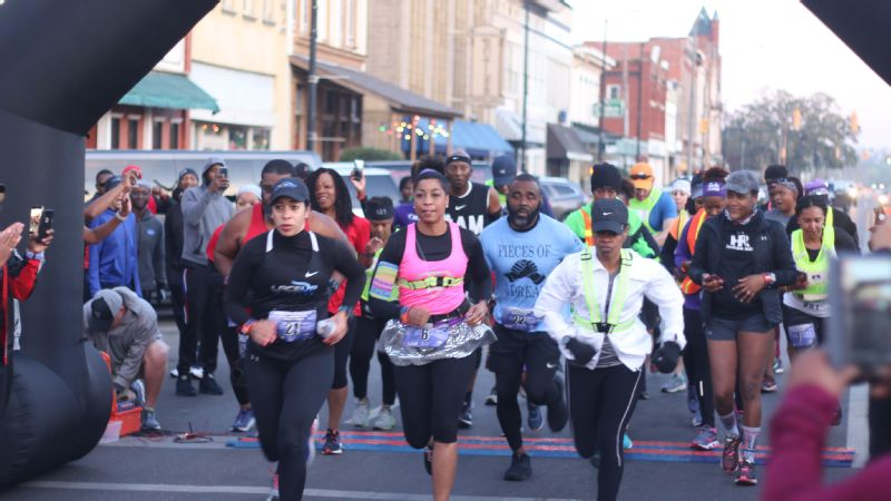 The 51-mile Selma to Montgomery Relay mirrors the route of the Selma-to-Montgomery march of 1965.